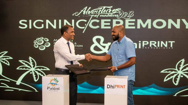 MMPRC official signing ceremony of the Adventures of Maldives