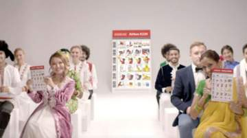 Air Arabia's communications team conceived and developed the new safety video