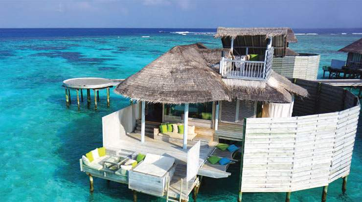 Water Villa, Six Senses Laamu