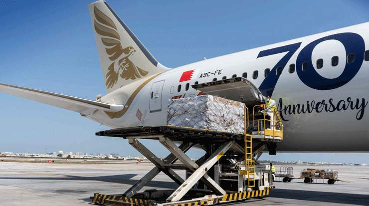 Gulf Air Cooperates with Local Companies in Importing Medical Supplies