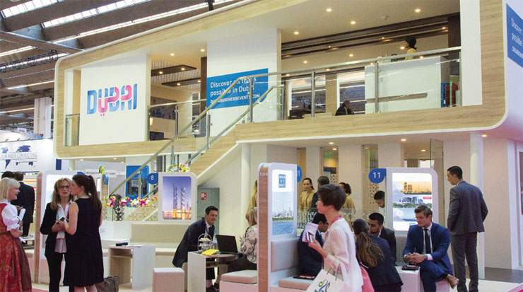 The Dubai Business Events pavilion at IMEX Frankfurt 20