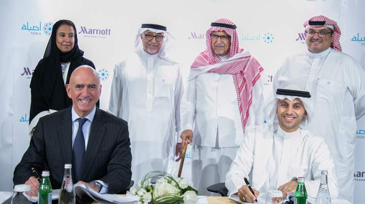 Luxury Collection deal signed for Saudi Arabia