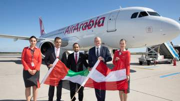 Inaugural launch of Air Arabia to Vienna