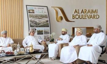 Muscat Municipalities Witness Al Araimi Boulevard Development