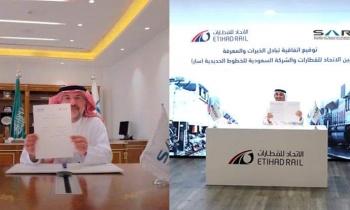 Etihad Rail and Saudi Railway Company to Cooperate