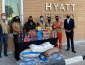 Hyatt Regency Oryx Doha and Wa'hab Distributed Essential Food to Community