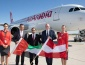 Air Arabia's Inaugural Flight Lands in Vienna